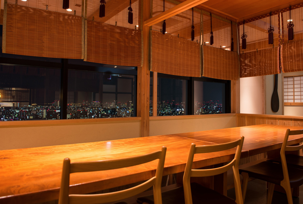 Private Rooms on the Mezzanine - Night